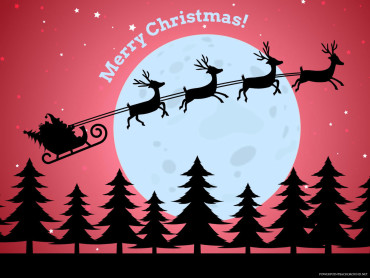 Merry Christmas Santa Claus Background