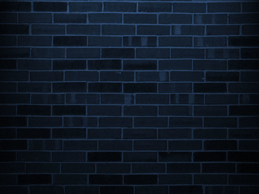 Brick backgrounds powerpoint background for Dark blue wallpaper for walls