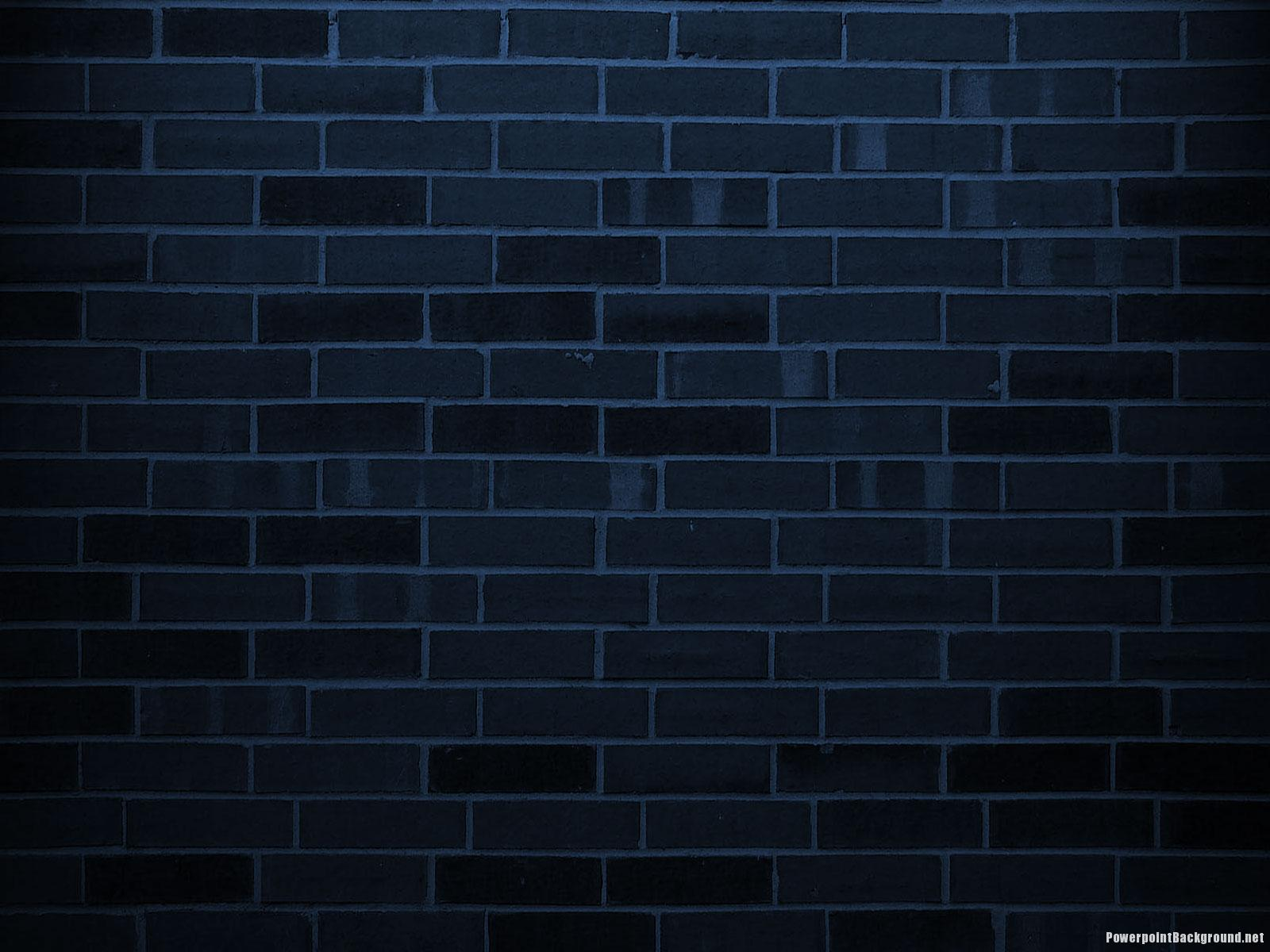 Dark ppt background idealstalist dark brick wall background powerpoint background toneelgroepblik