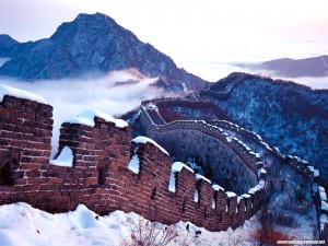Great Wall China Background for Powerpoint